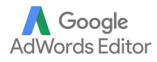 Google Adwords optimization tools- Google Ads Editor logo text