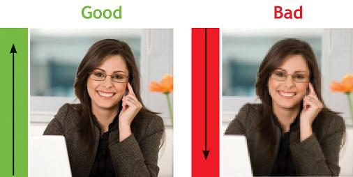ecommerce conversion rate optimization- Good and bad image