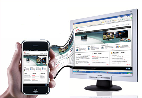 Mobile Compatible website
