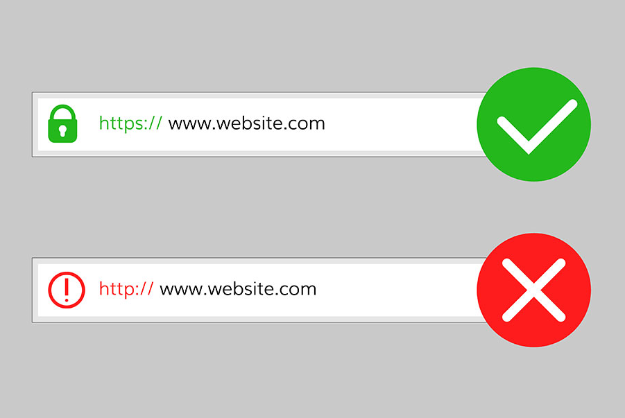 securead and unsecured websites