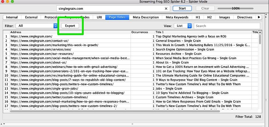 Prepare a Content Audit